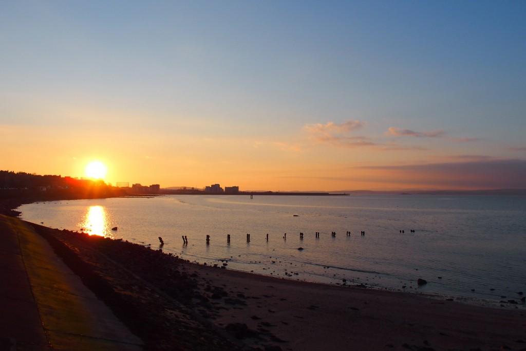 Cet article est parsemé de photos d'un coucher de soleil à Newhaven... Envoûtant !
