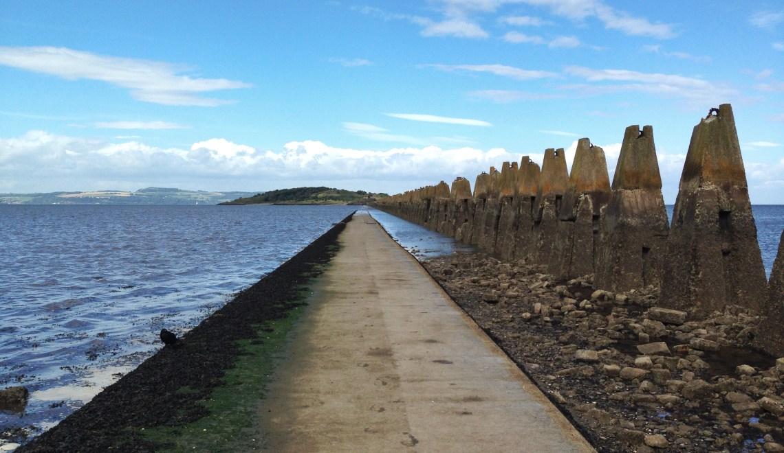 cramond island scotland
