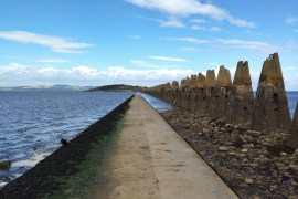 cramond island scotland