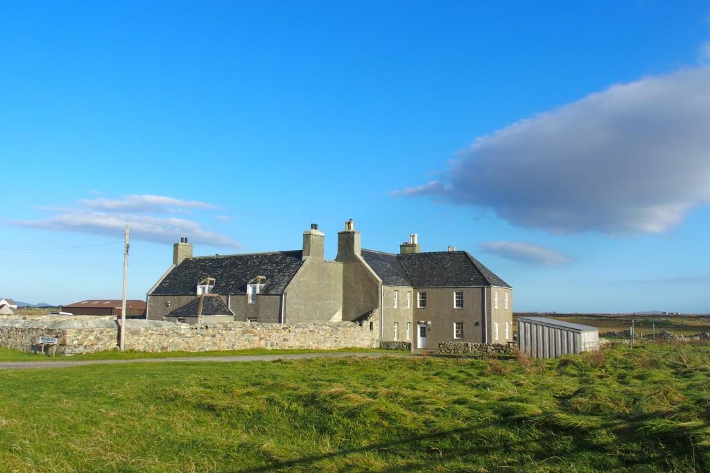 Benbecula Hebrides Scotland nunton house