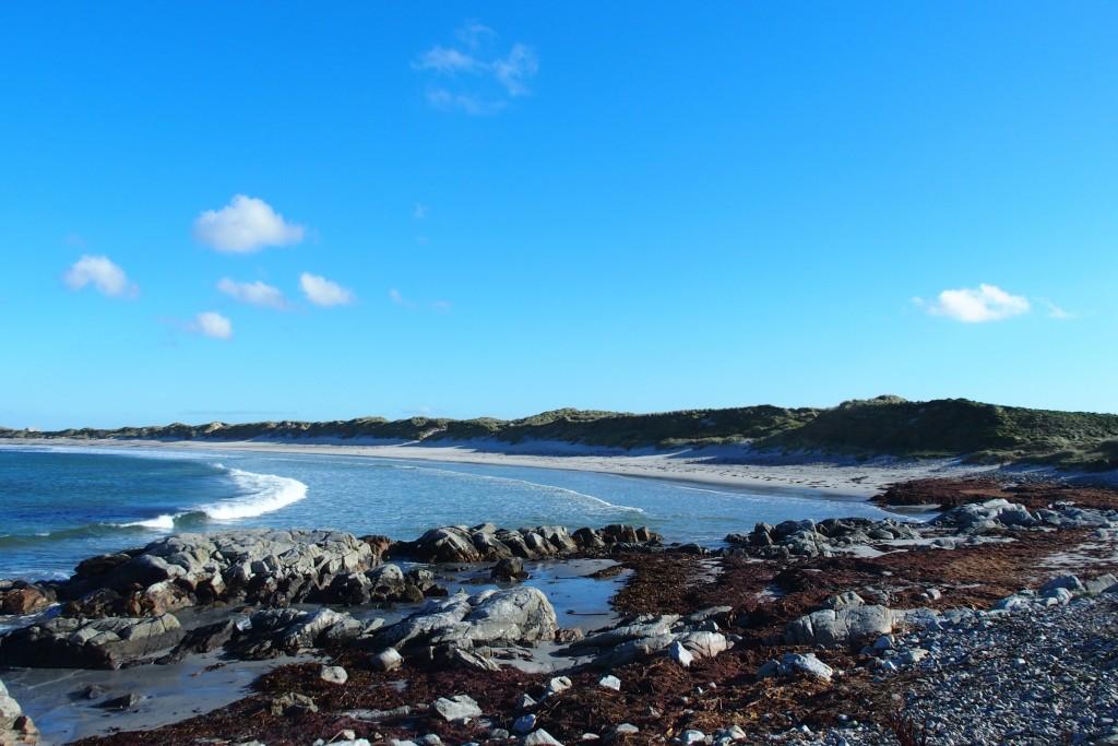 Benbecula Hebrides Scotland