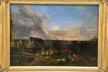 Calton hill 1819 George Vincent