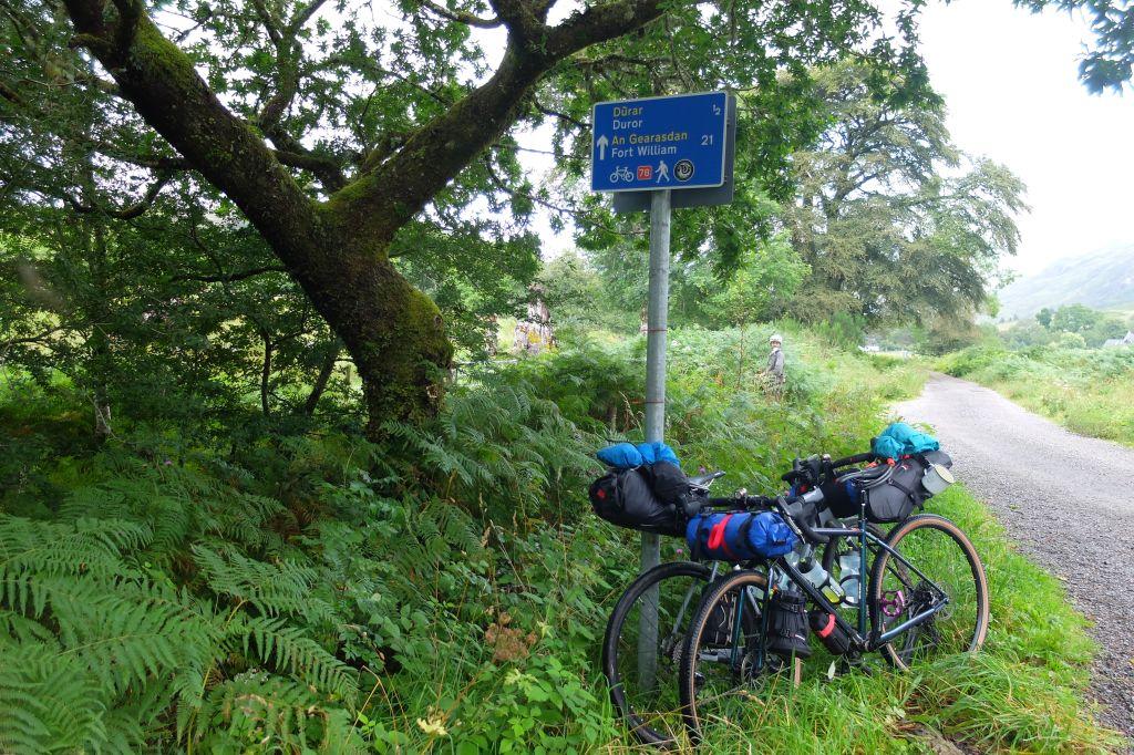 Ecosse à vélo. Photo Deboray Gay et Jérôme Fort