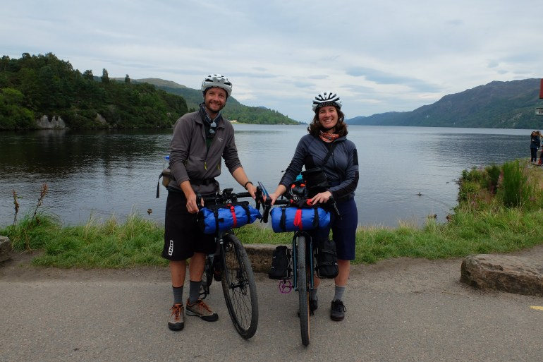 Ecosse à vélo. Photo Deboray Gay et Jérôme Fort