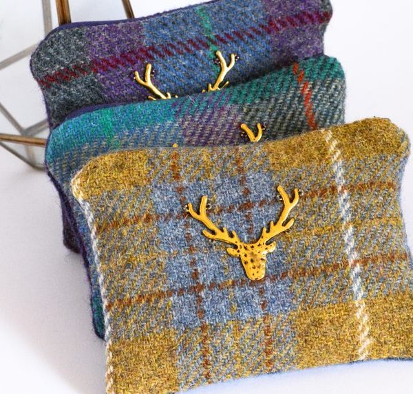 pochette harris tweed