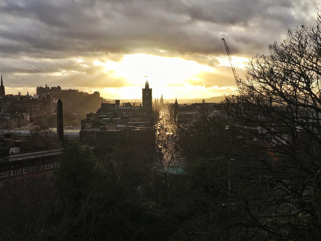 Edimbourg vu de Calton Hill