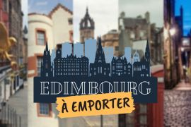edimbourg a emporter illustration visite guidée virtuelle