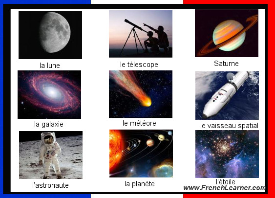French Astronomy Words