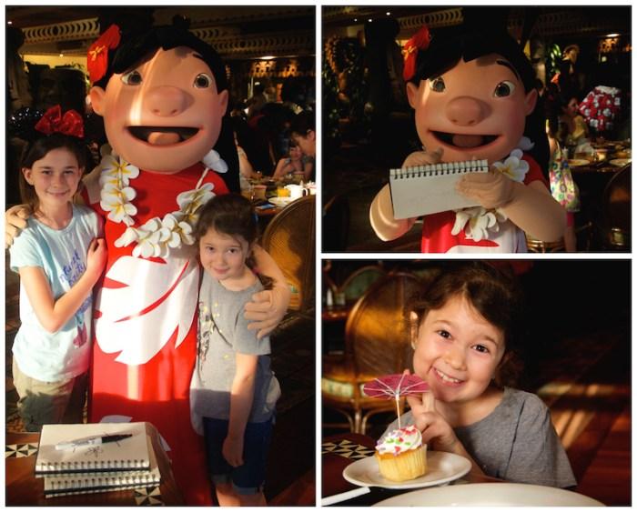 Lilo et cupcake