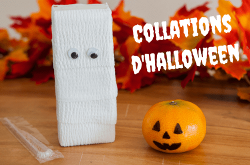 Collations d'Halloween