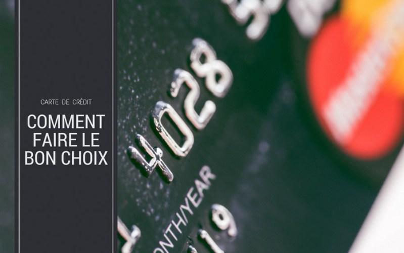 Comment choisir sa carte de crédit
