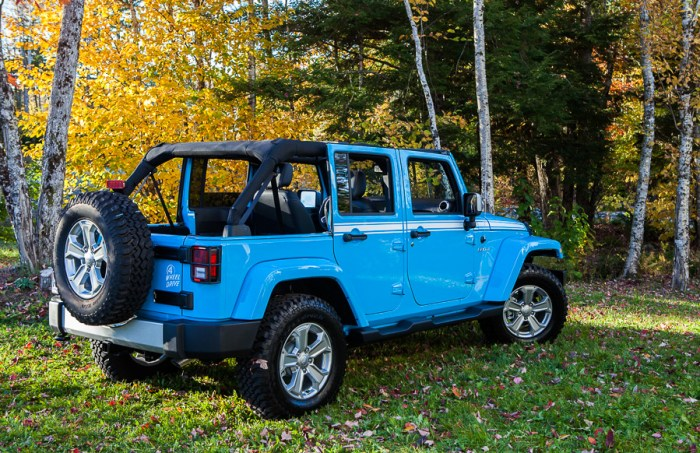 Un cadeau de rêve pour mes 50 ans : un Jeep!