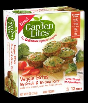 Garden Lites veggie bites