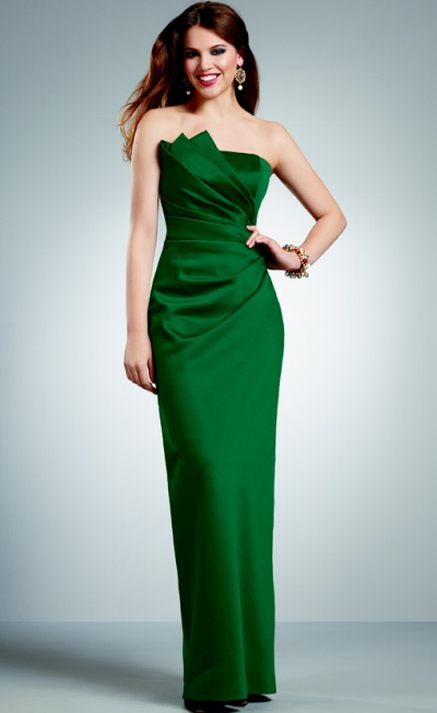 Size 10 Peacock Jordan Short Draped Bridesmaid Dress 258