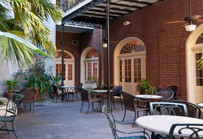 must see french quarter courtyards