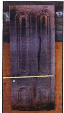 Fig. 1 : The original cabin door.