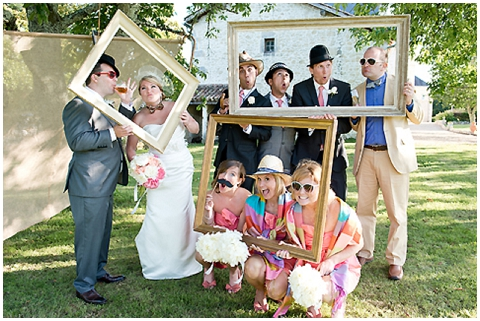 Coral Rustic Wedding In Bordeaux