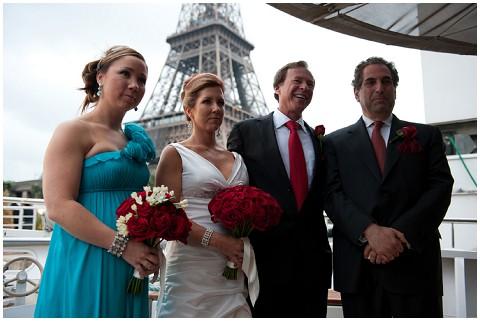 Belle Momenti eiffel tower wedding