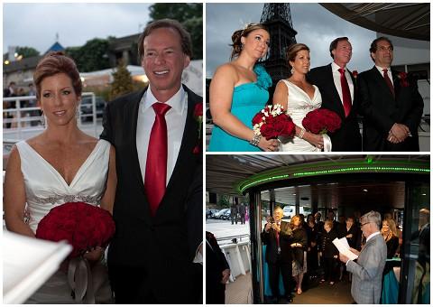 Belle Momenti mature newlyweds