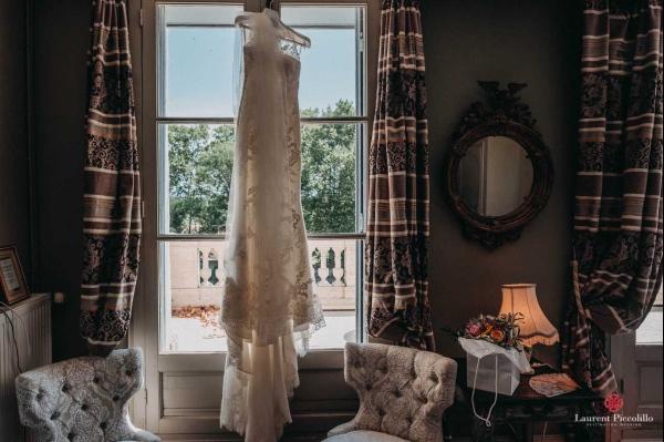 photo élégante robe de mariée