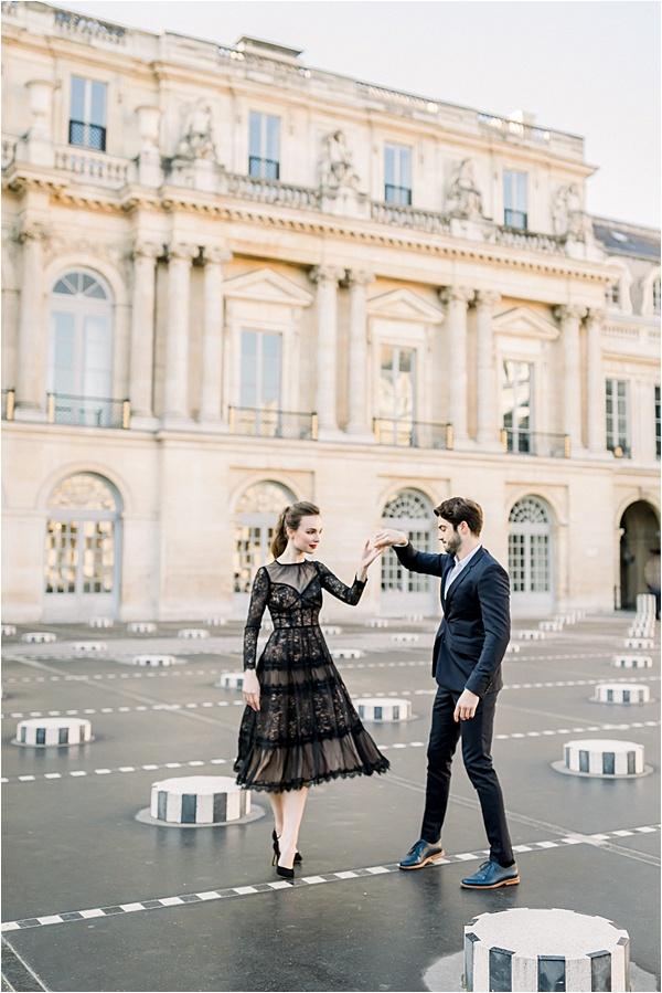 Fiançailles Photoshoot Paris