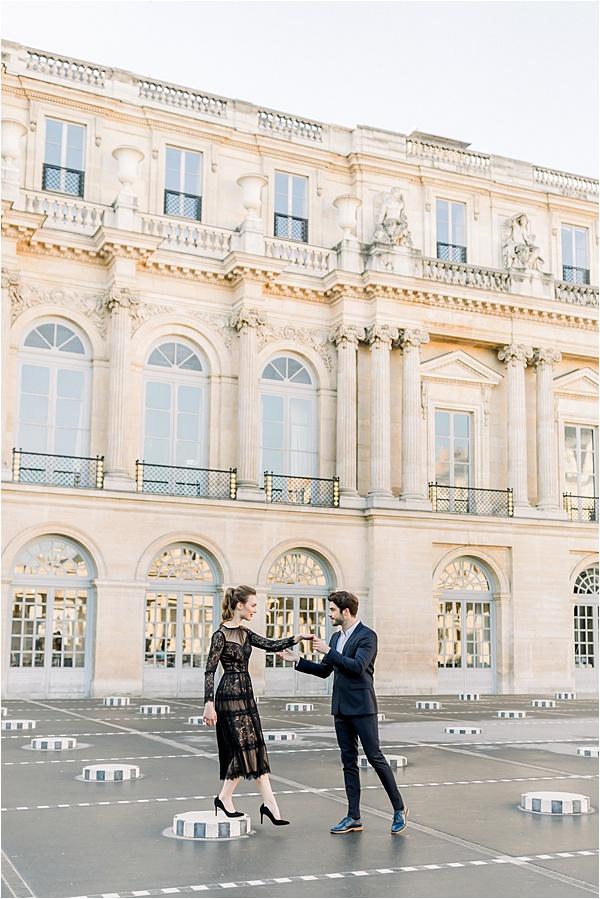 Séance photo parisienne