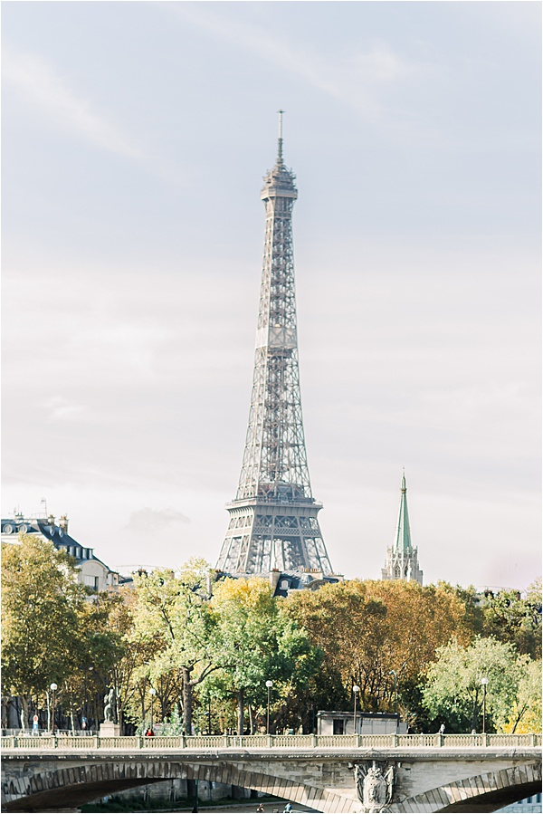 La magnifique tour Eiffel