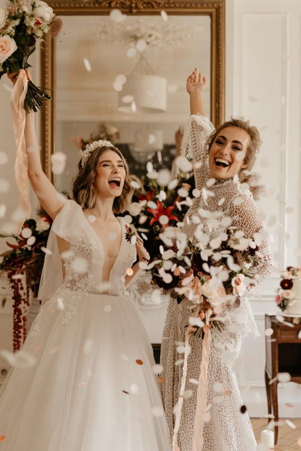 Nouveaux mariés en France