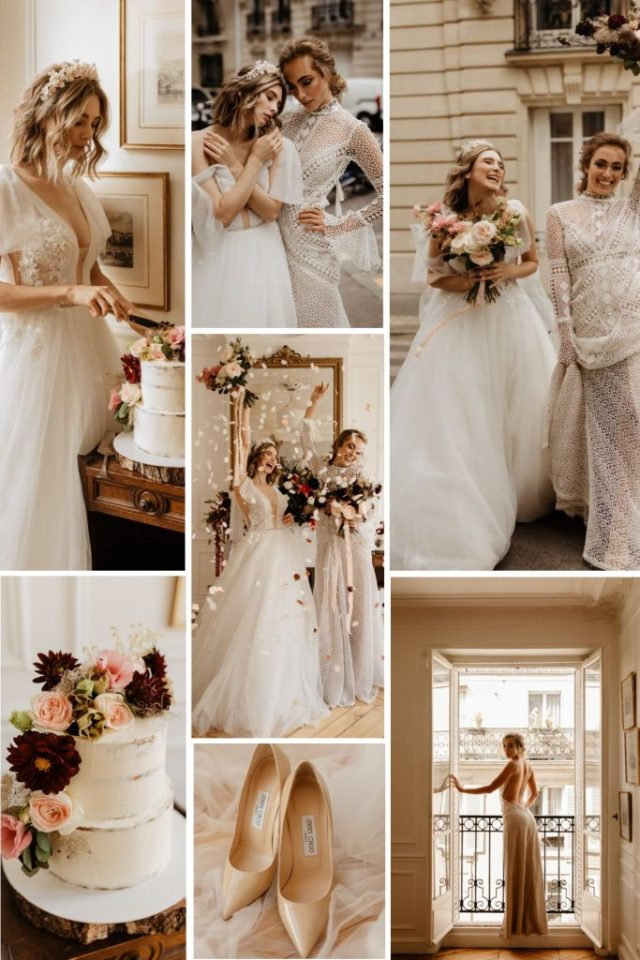 Paris Appartement Elopement Wedding