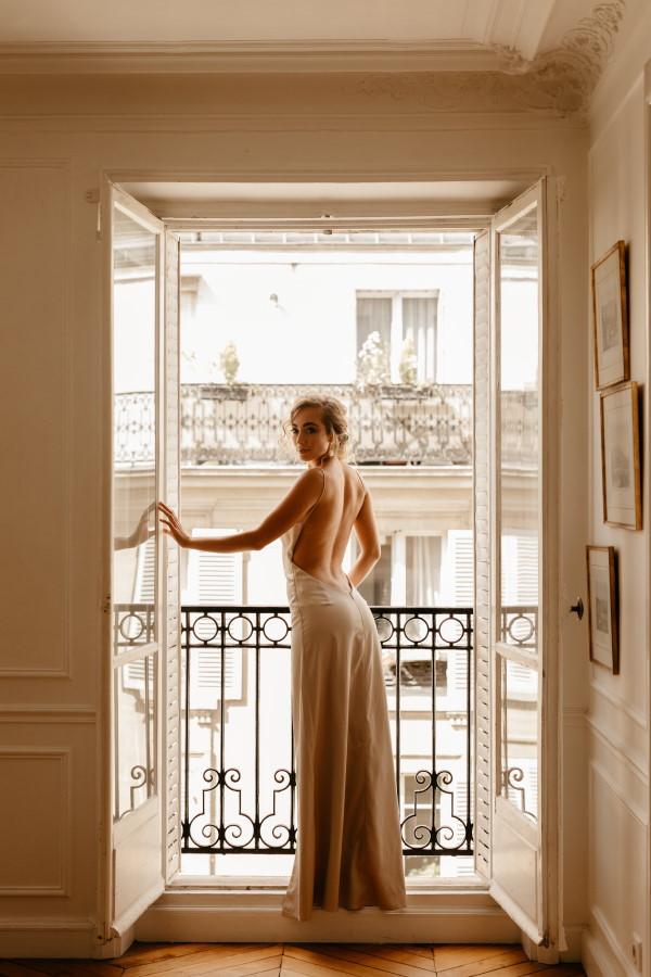 Mariage Parisien Haussmannien Appartement Balcon
