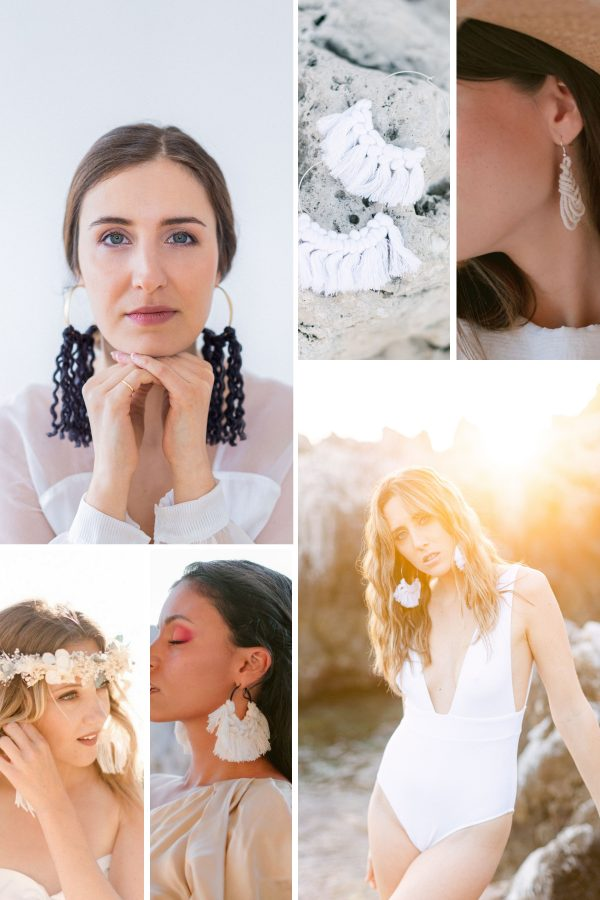 Collage d'articles faits à la main par Made With Love par Natalia