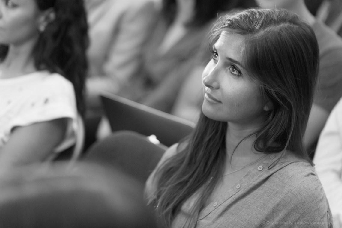 (Girls in Tech Lady Pitch Night Sept2014) Pauline Laigneau (Gemmyo) (1)BW