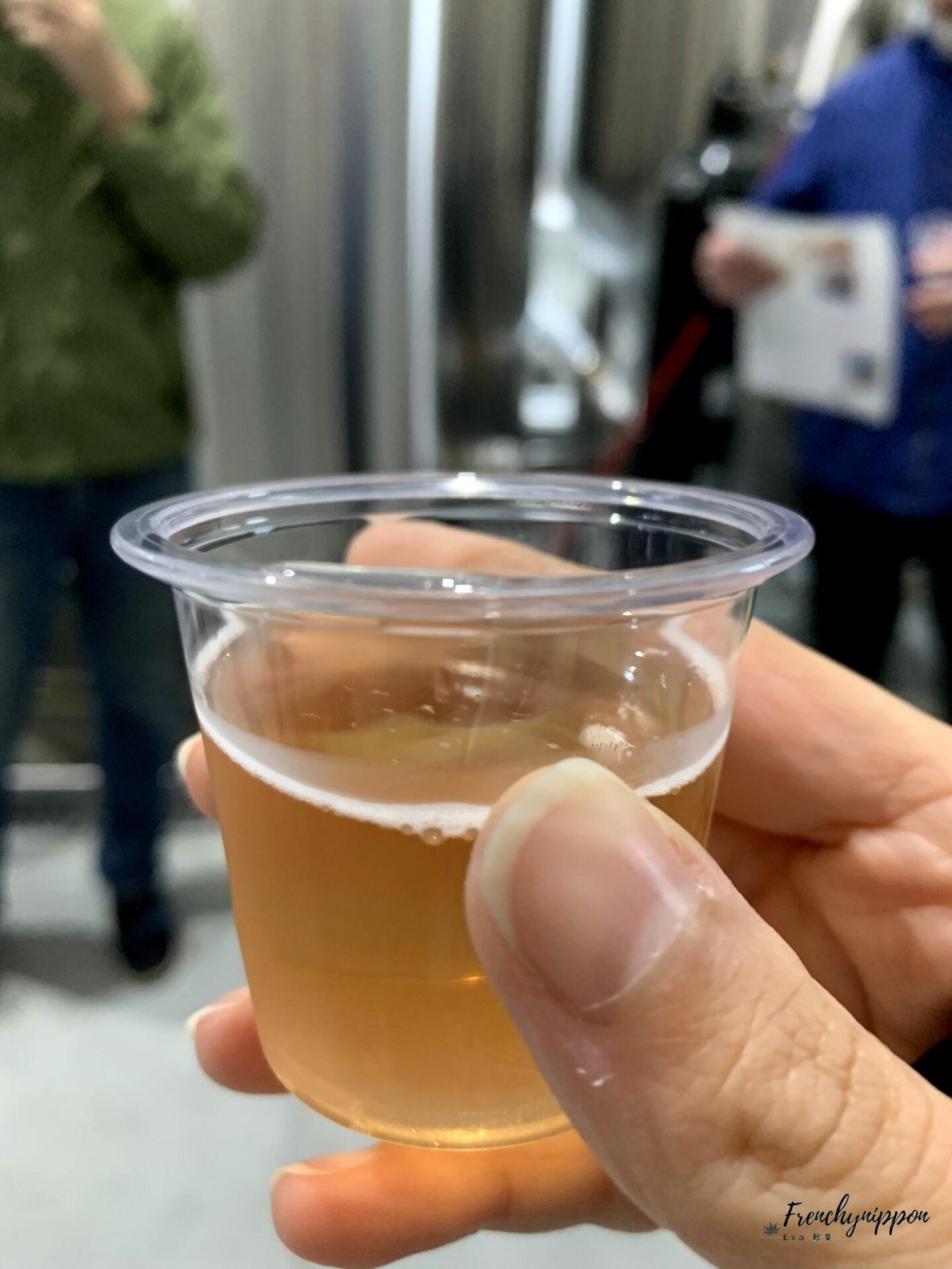 bière a l'extrait de miel et de fleur de cerisier