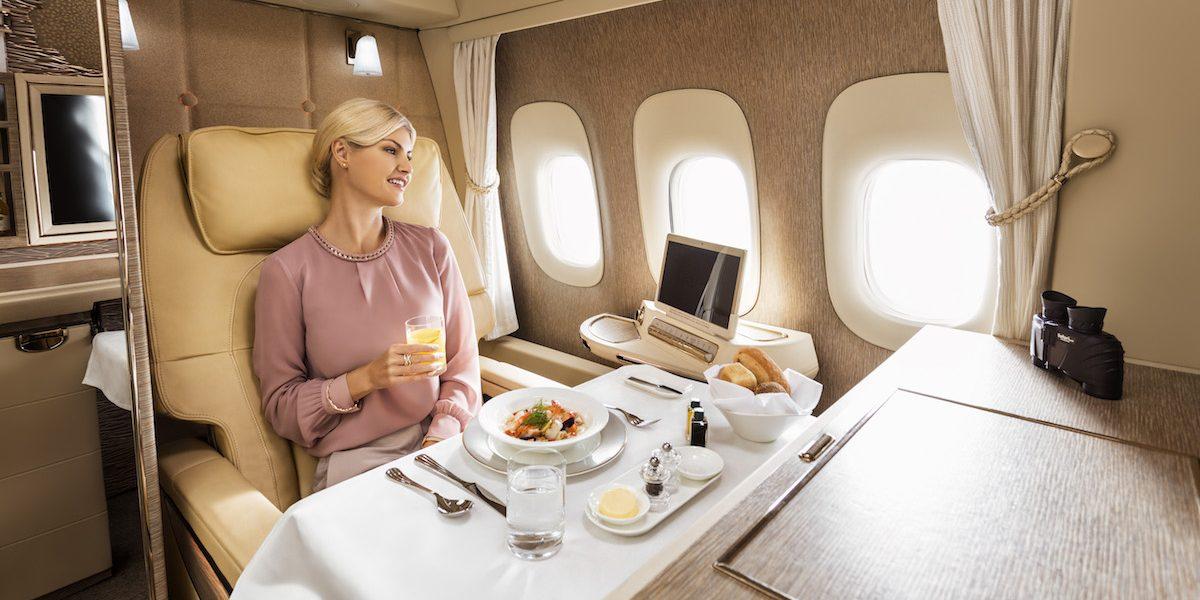 Sneak Peak – New Emirates First Class