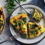 Veggie Full English Breakfast Tortilla für 4 Personen