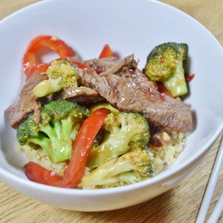 Lighter Beef and Broccoli - www.freshapron.com