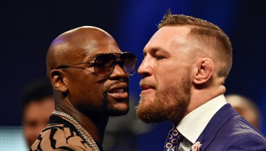 Video: Mayweather Thinks Conor Isn't Making Weight