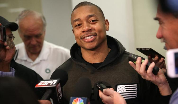 Isaiah Thomas Posts Video in Response to Critics Following Trade and Injury News