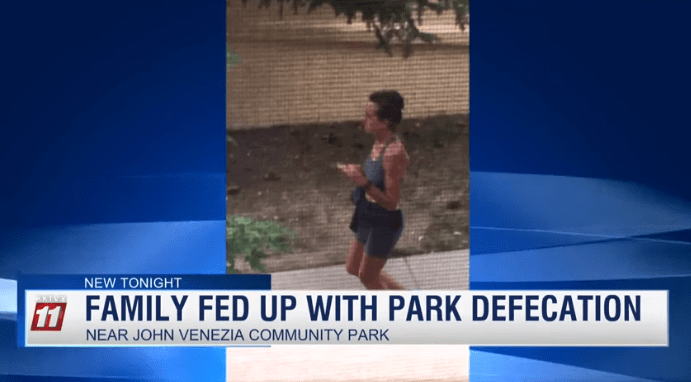 "Female Jogger Dubbed ""The Mad Pooper"" Won't Stop Defecating In Front Of Family's Home (Video)"