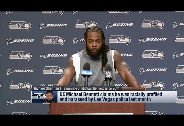 Richard Sherman on Bennett Arrest: Money nor Fame Stops Racial Profiling