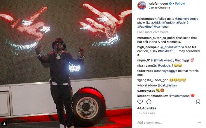 Ralo Pulls Up to Moneybagg Yo's Concert in Show of Support