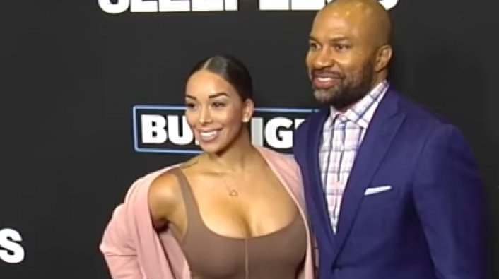 Derek Fisher Proposes to Gloria Govan