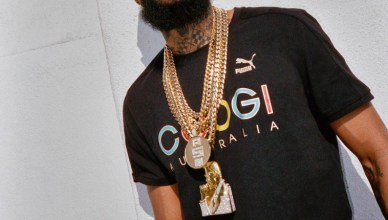PUMA x COOGI Collection features Nipsey Hustle