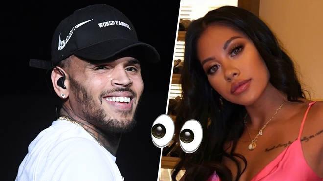 Chris Brown Got Karrueche Look-alike PREGNANT!!