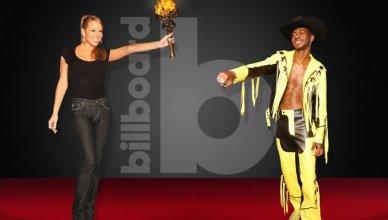 Mariah Carey Congratulates Lil Nas X