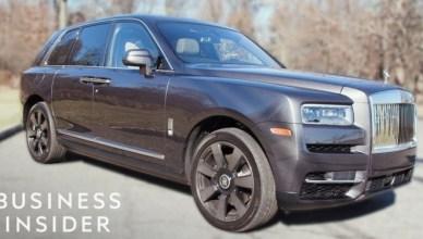 What It's Like Inside Rolls-Royce's $410,000 Luxury SUV