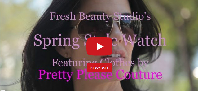 Spring Style Watch with Pretty Please Couture