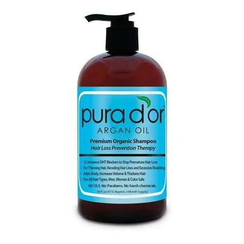 Pura d'or Argan Oil Shampoo and Conditioner Product Review