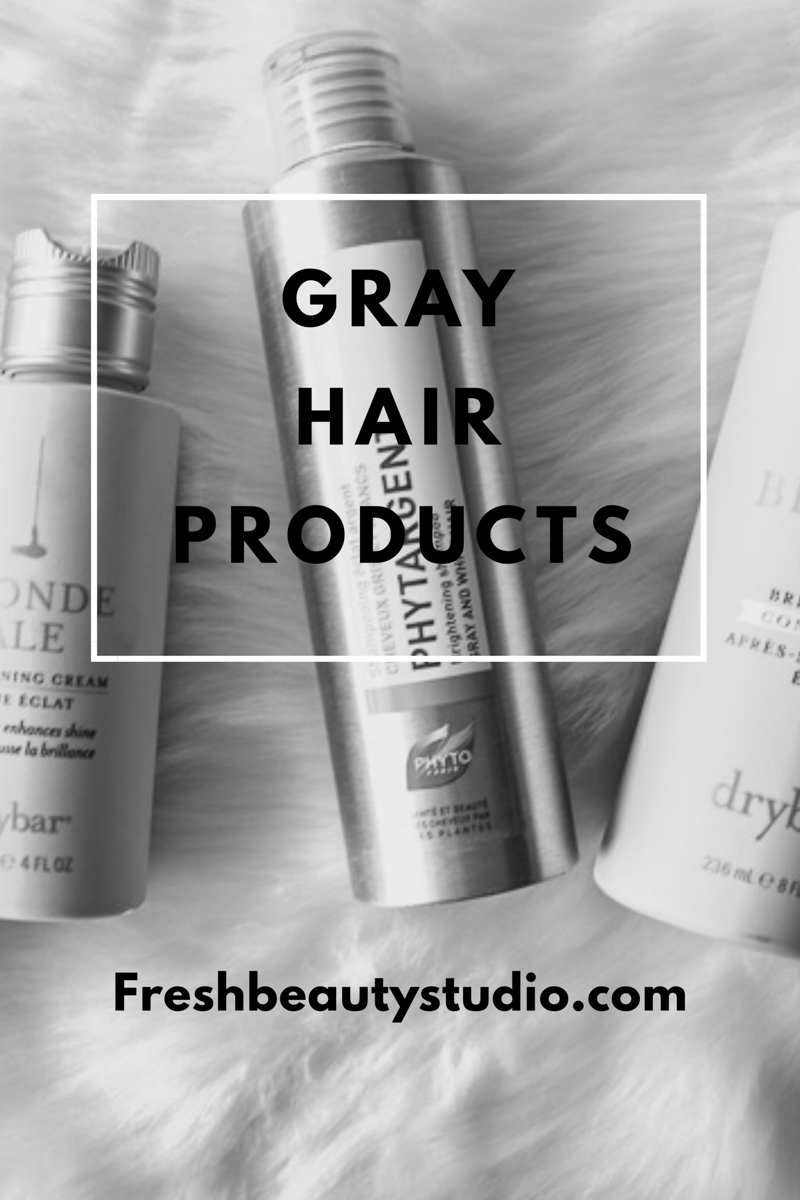 Gray Hair Products By Beauty Expert Nikol Johnson