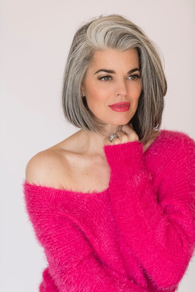Why Gray Hair Is Changing The Beauty Industry Nikol Johnson
